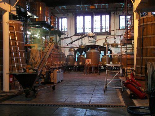 L'atelier actuel où est fabriquée la Bénédictine.