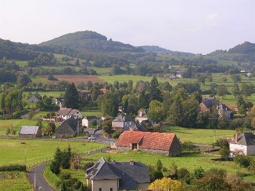 village de Saignes (cantal)