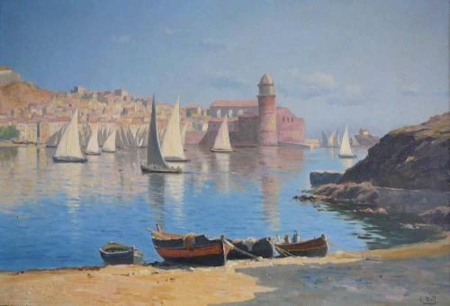 Articles gruissan avignon le peintre lina bill for Artiste peintre narbonne