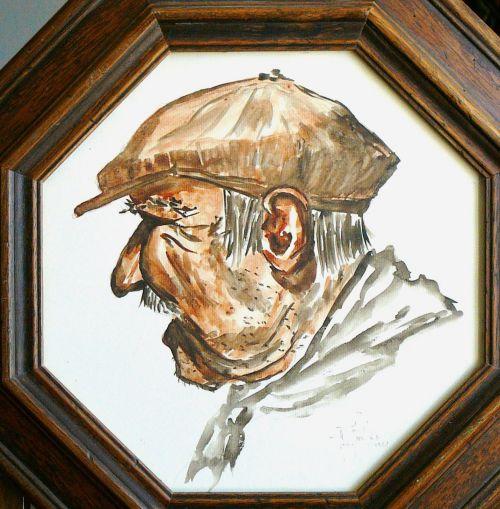 Gruissan ancien pêcheur personnage Gruissanais