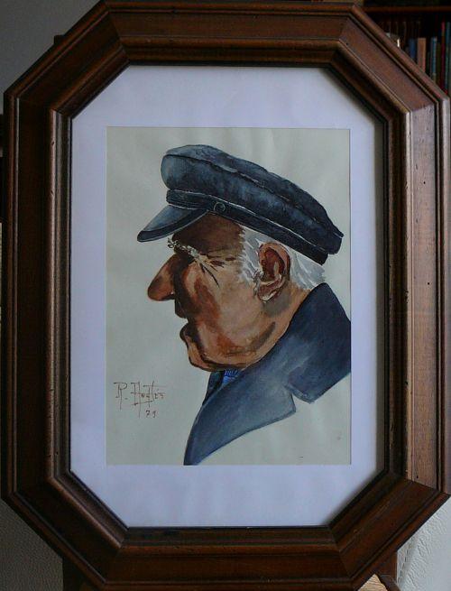 Un ancien pêcheur Gruissanais