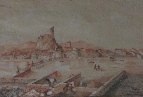Gruissan village