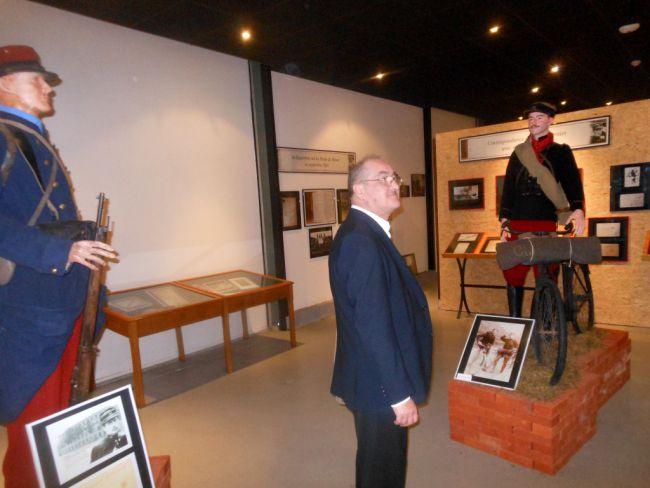 30-10-2015 : En visite au Musée André Maginot