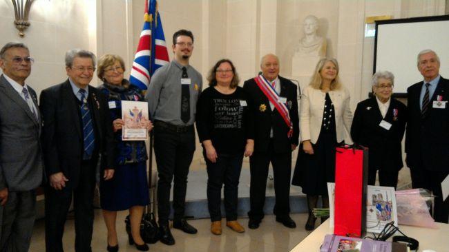 11 mars 2016 - Cérémonie prestigieuse de décoration au Palais du Luxembourg