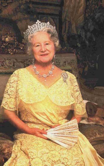 S.M. la Reine Mère, Présidente d'Honneur de l'A.N.F.B.