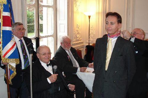 2011 - Le Président Frédéric Albiez et M. Jean-Philippe Secordel-Martin
