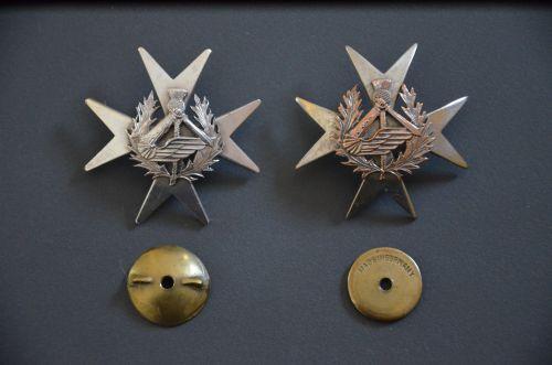 Insignes régimentaires de poitrine du 2ème régiment blindé