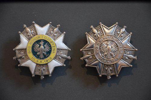 Insignes régimentaires de poitrine du 10ème PSK