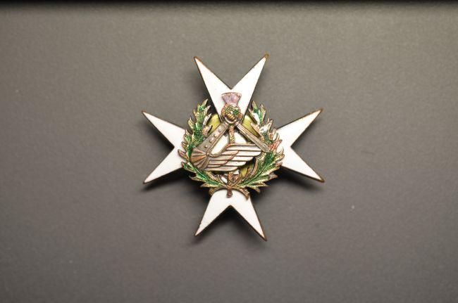 Insigne régimentaire de poitrine du 2ème régiment blindé
