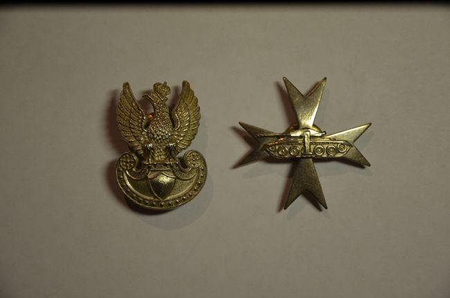 Attributs d'un lieutenant du 1er régiment blindé