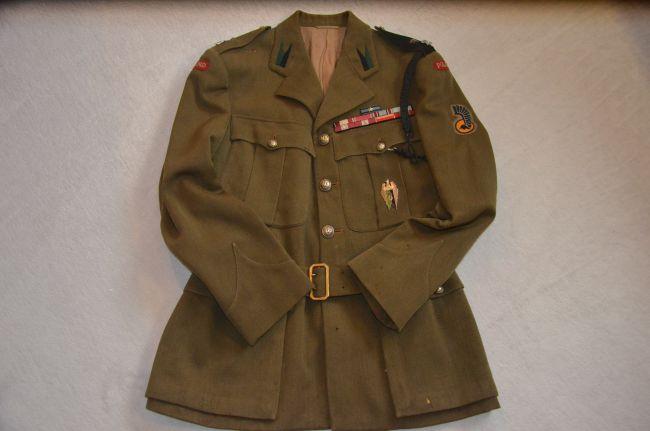 Service dress de sous-lieutenant du 2ème PAMot