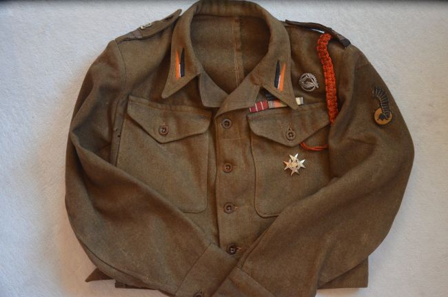 Battle-dress de caporal du 2ème régiment blindé