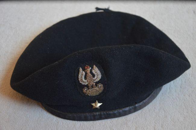 Coiffe de sous-lieutenant du 8ème bataillon de chasseurs