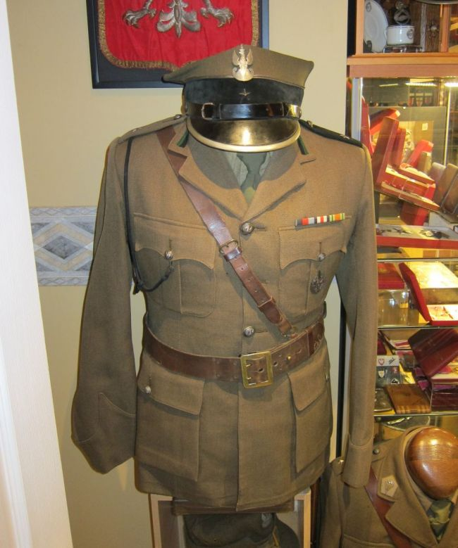 Service dress de sous-lieutenant du 1er ou 2ème PAMot