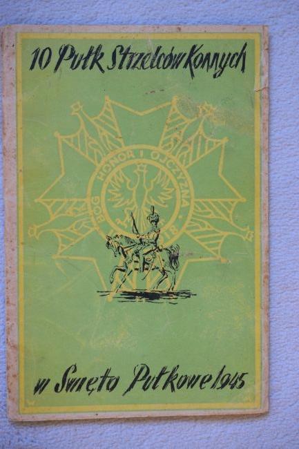 Livre du 10ème régiment de Chasseurs à cheval