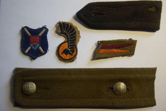 Grouping de sous-lieutenant du 10ème régiment de Dragons