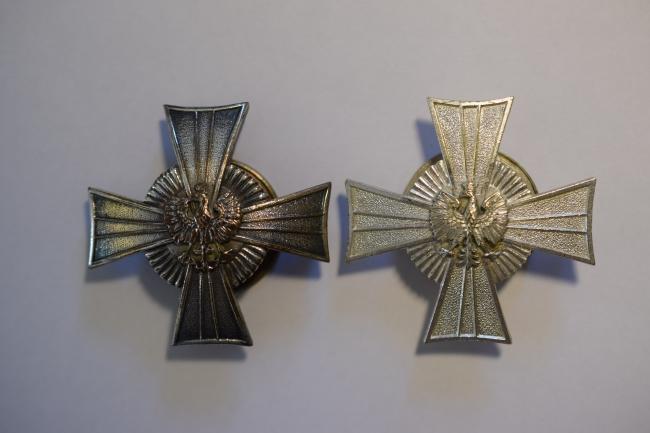Insignes régimentaires de poitrine du 24ème régiment de Lanciers