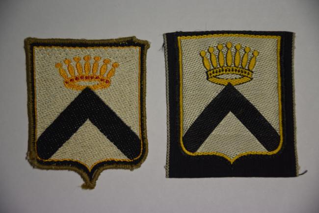 Insignes honorifiques du 1er régiment antiaérien