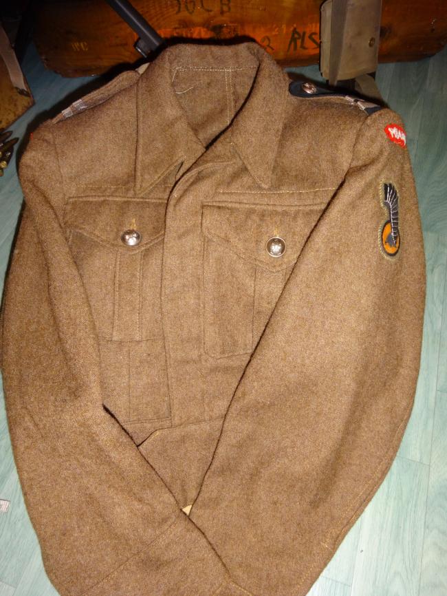 Battle-dress de caporal