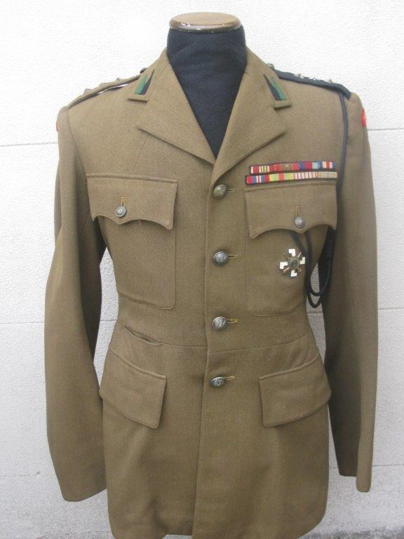 Service dress de capitaine du 1er PAMot