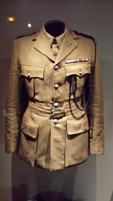 Service dress de capitaine aumônier du 10ème régiment de Dragons
