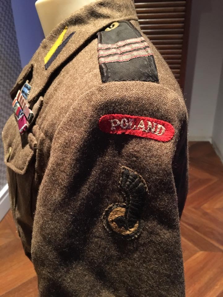 Battle-dress de caporal-chef du bataillon de chasseurs de Podhale