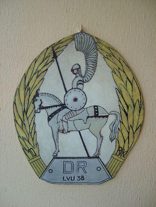 Maquette insigne du cimetière de Langannerie