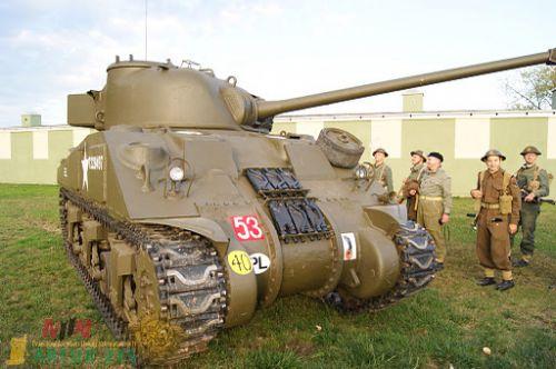 Sherman aux couleurs polonaises !