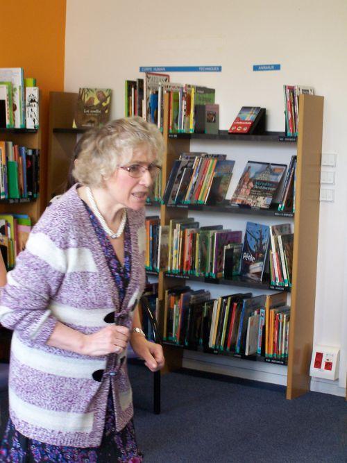 Agnès Rivière Bibliothèque CHENÔVE le 7 mai 2014