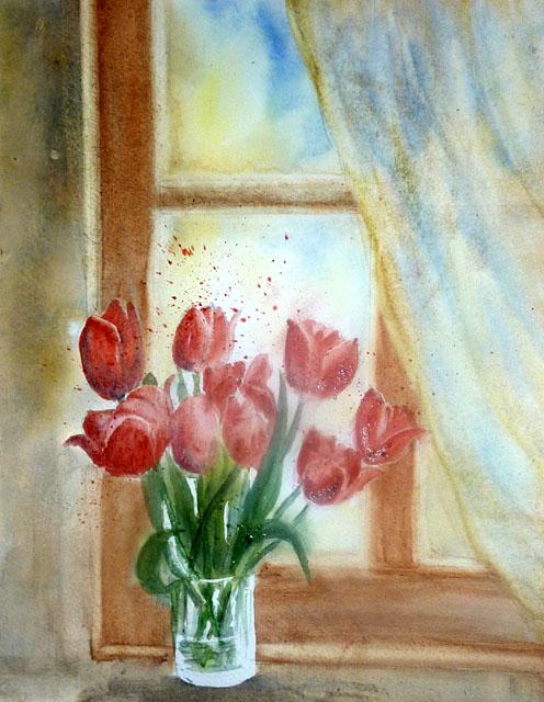 6 - tulipes devant fenêtre 02.JPG