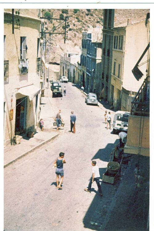Rue de L'Arsenal en allant vers le port