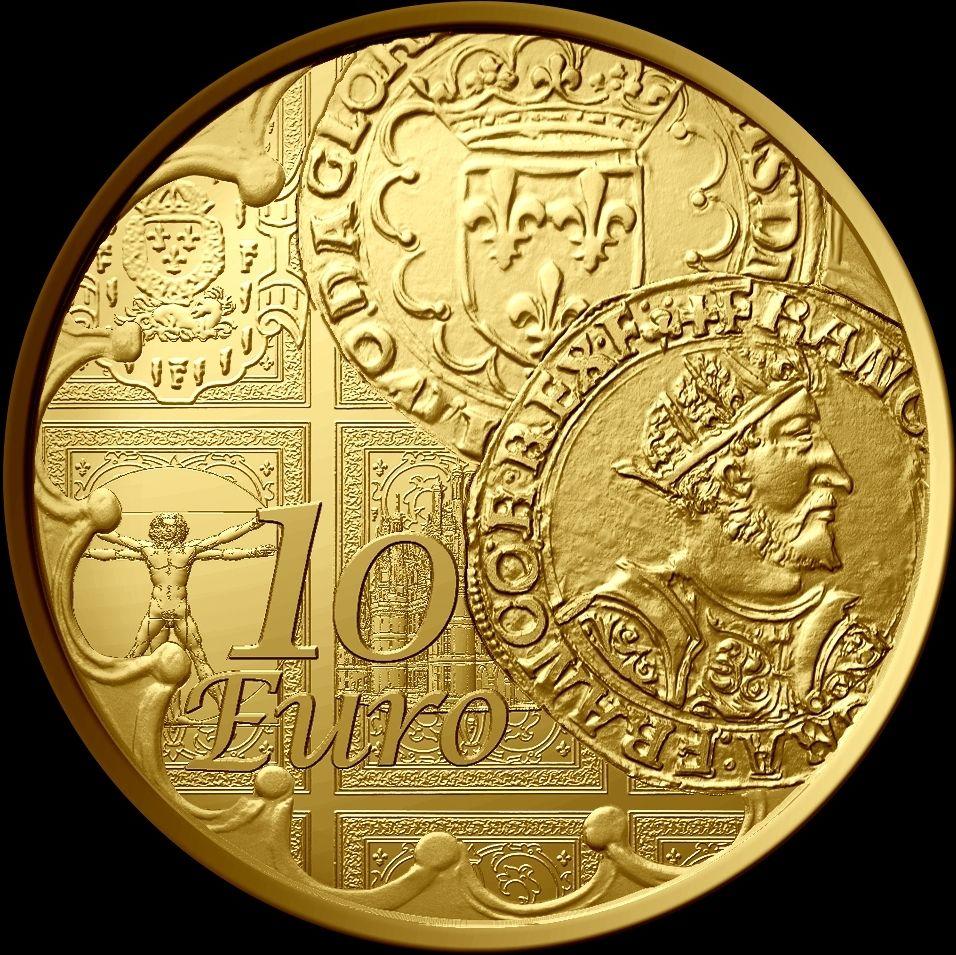 La Semeuse 2016 10 Euro Or le Teston BE - Gold coin 110 oz.jpg