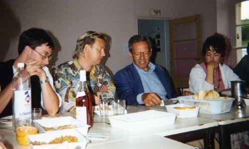 Repas de travail avec Bernard Stasi