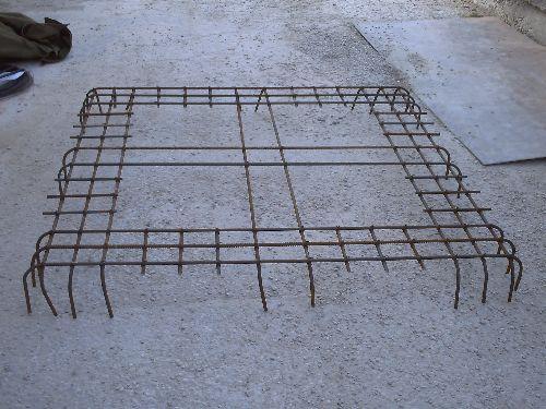 Ferraillage 4 plancher porte à faux