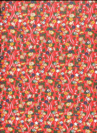 fleurs variées fond rouge.jpg