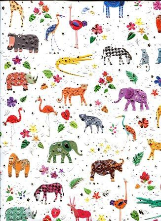 papier fantaiie l'arche de Noé - l'art et création.jpg