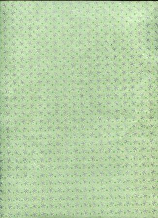 étoiles et pois argent et vert amande.jpg