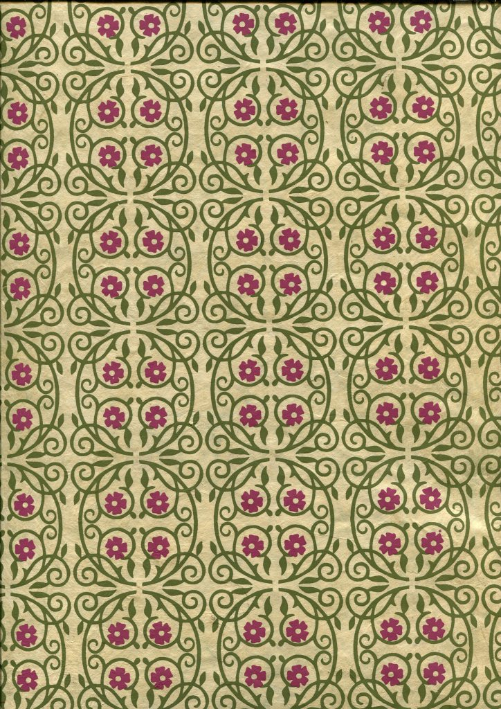 cercle floral fushia et vert.jpg