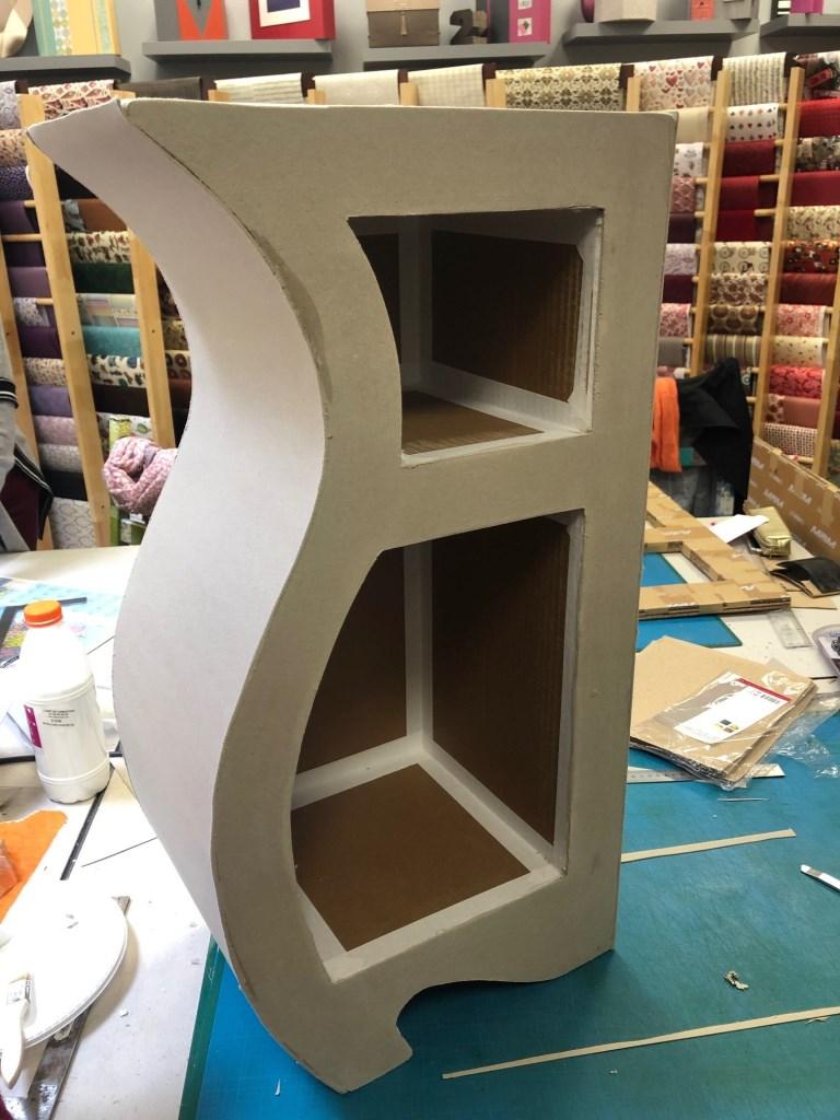 Fabriquer Une Bibliothèque En Carton meubles en carton - l'art et création spécialiste du