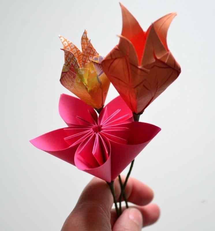 fleur origami sarigami (3).JPG
