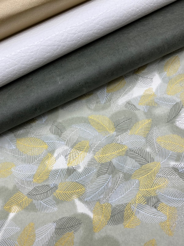 plume gris argent or assortiment