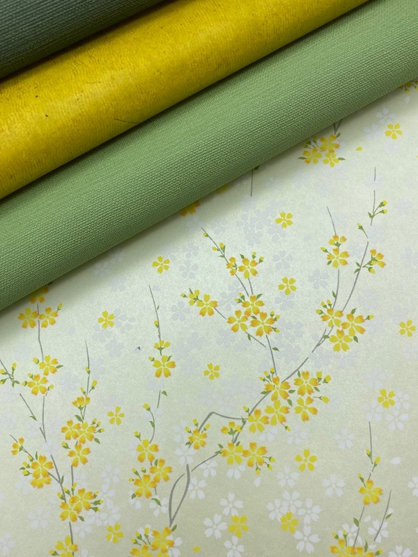 rameaux de sakura jaune assortiment