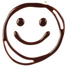 smiley chocolat