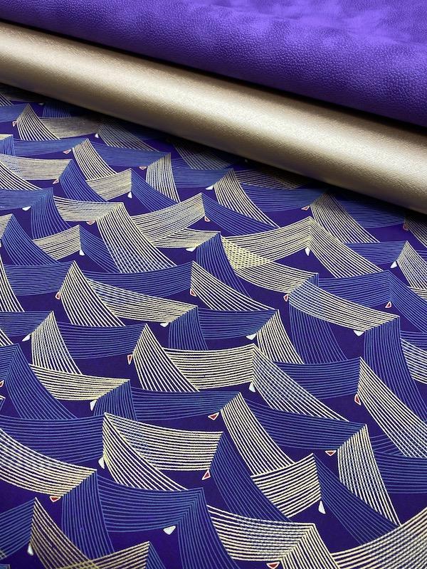 vague violette et or assortiment