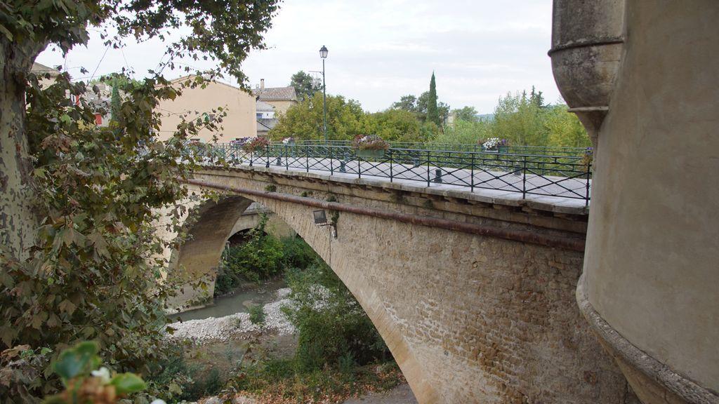 Jusqu'au pont qui permet de ressortir de Mollans