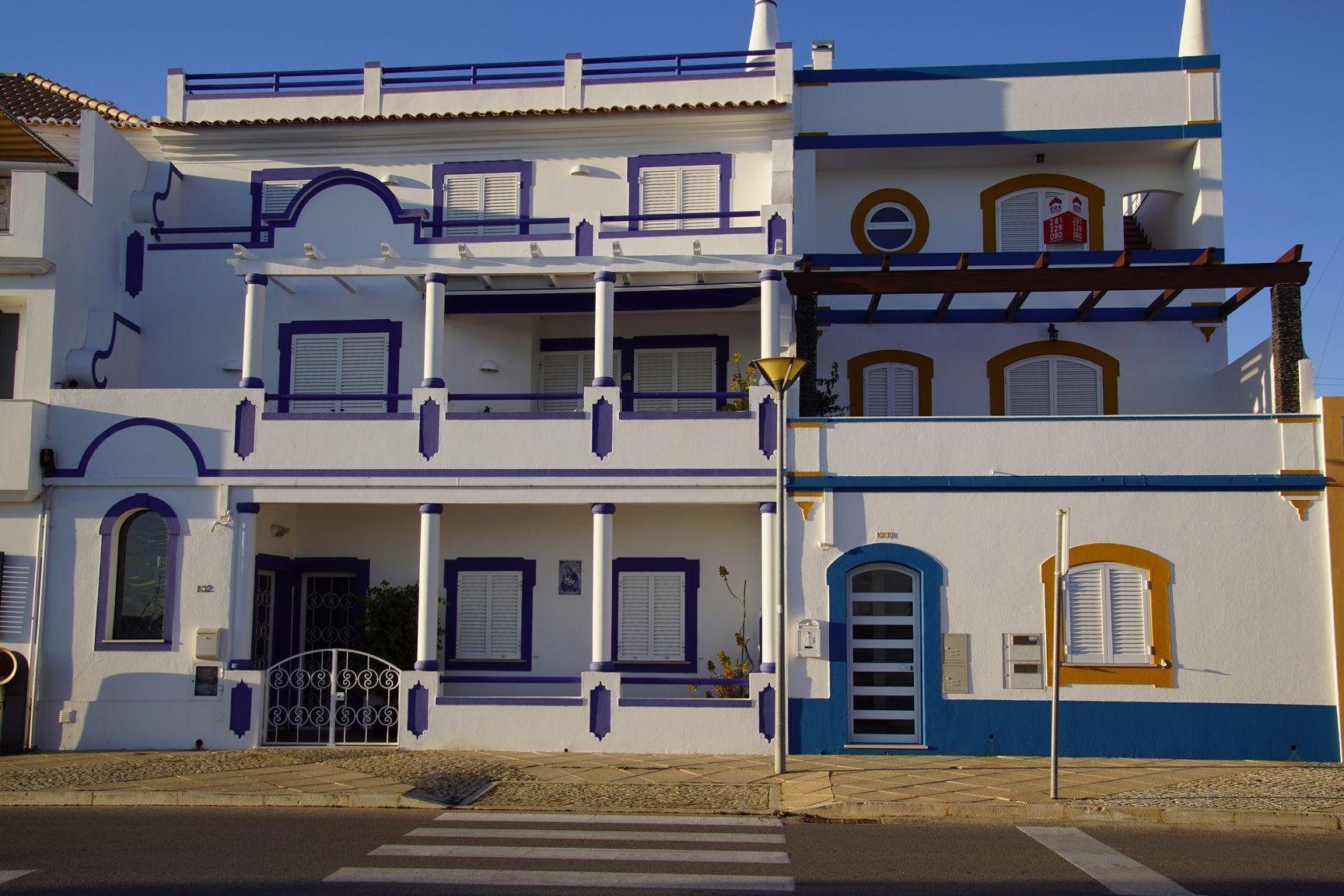 Quelques jolies maison avec des toits terrasses