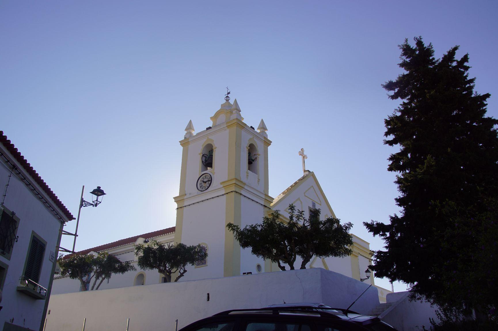 L'église de Ferragudo
