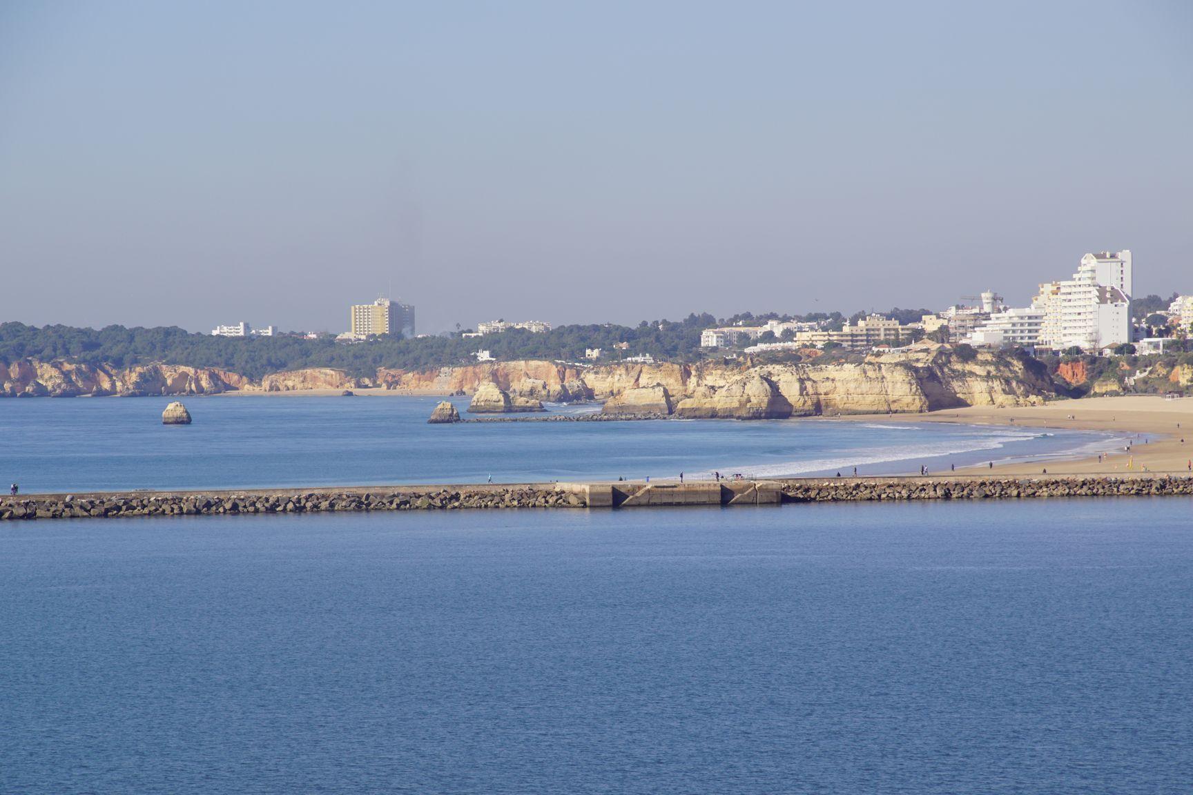 Vu de Portimão