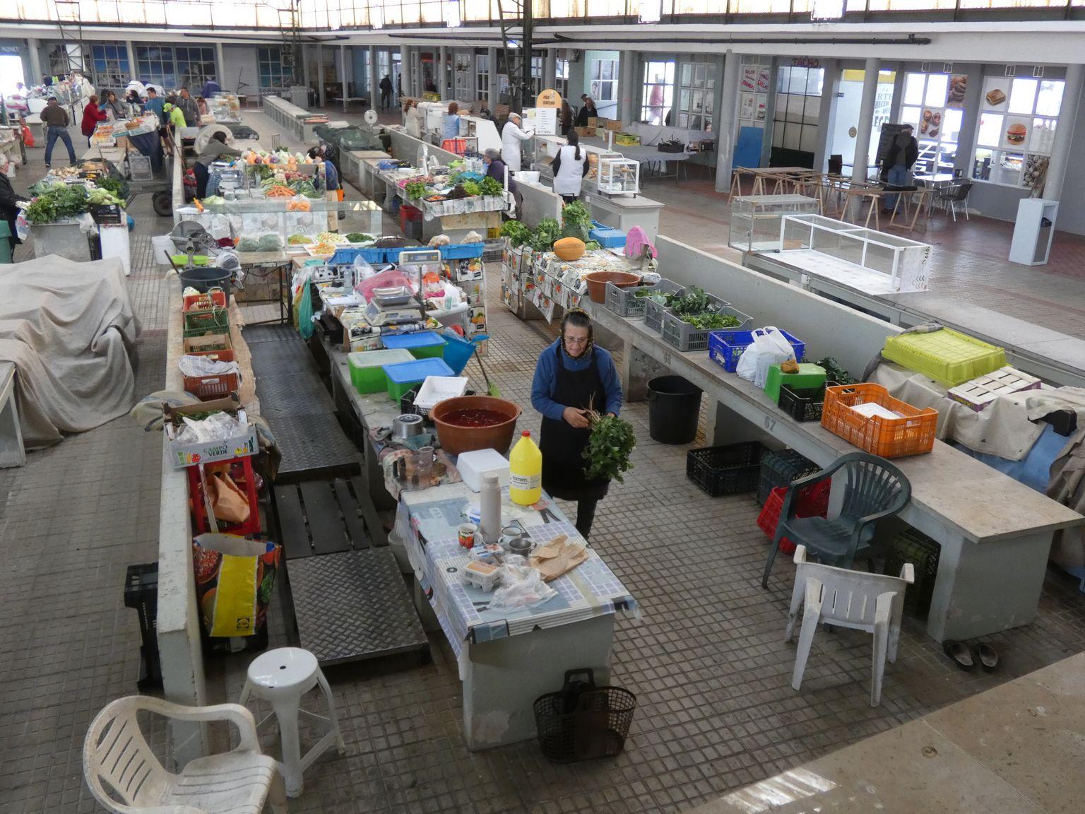 Le marché couvert