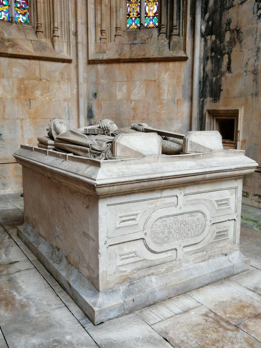 Le tombeau du roi João 1er et de la reine Filipa de Lencastre